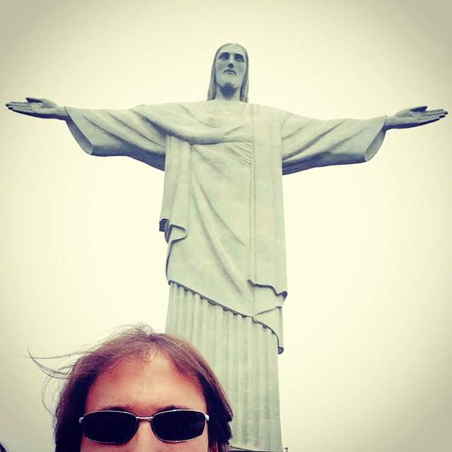 #Rio #corcovado #christ #selfie pour une fois ;-)