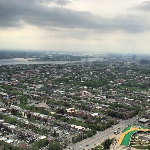 #parc #olympique #vue #montreal #quebec #canada