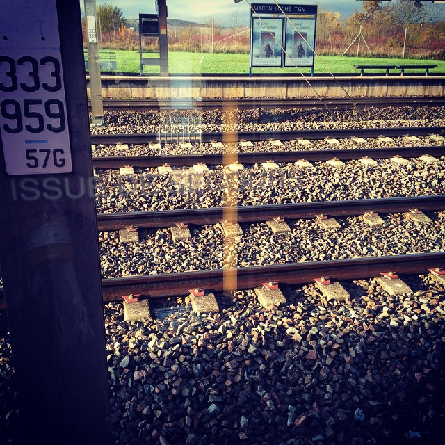 #tgv #train #rail #quai #igerslyon #igersparis