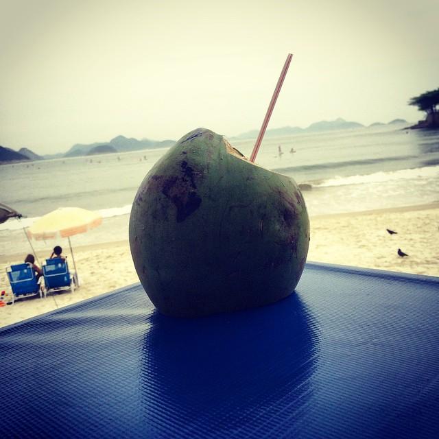 #Rio #noixdecoco #plage #mer